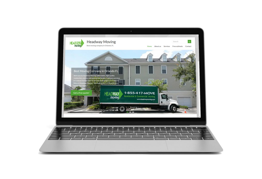 Headway Moving 2 – web design
