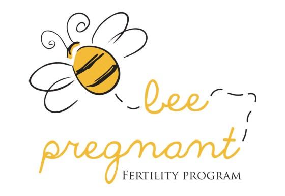 Bee pregnant logo