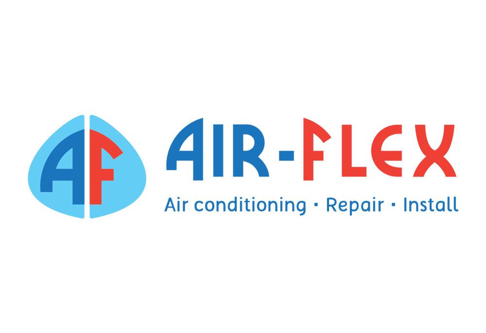 Air-Flex logo design