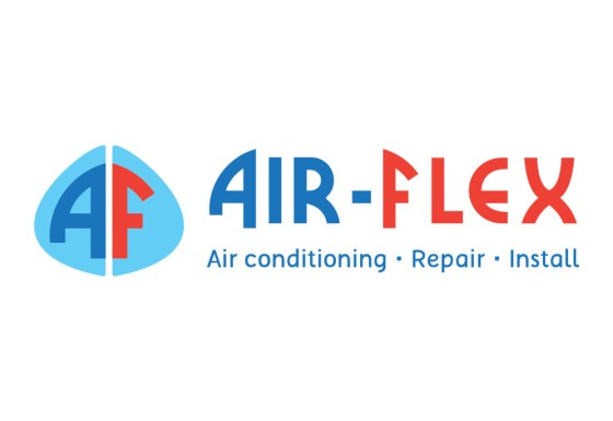 Air-Flex logo design