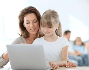 Дети и общение с компьютером