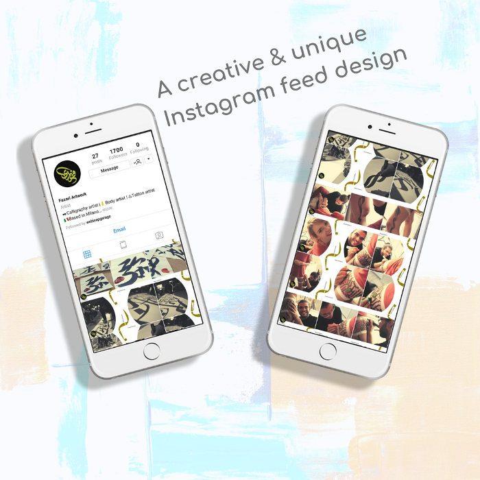 Instagram Feed Design & Marketing