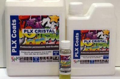 Nueva protección antigraffiti PLX cristal