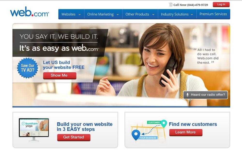 develop a free blog for writers through web.com