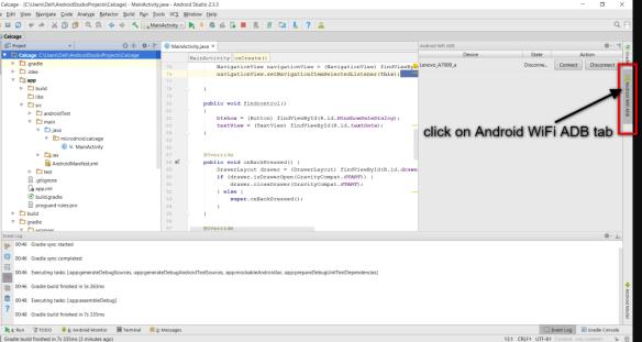 How to Debug Android App Using WIFI - Weblizar Blog