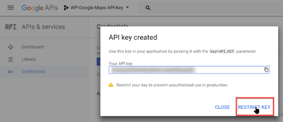 How To Create Google Map API Key step By step - weblizar blog