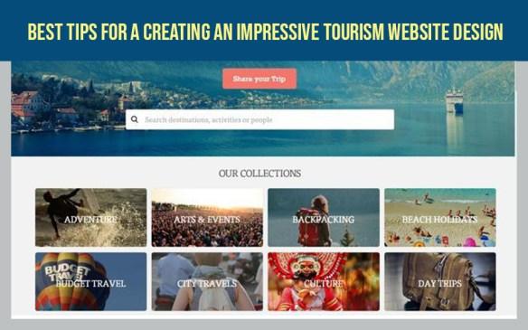 Best Tips For A Creating An Impressive Tourism Website Design