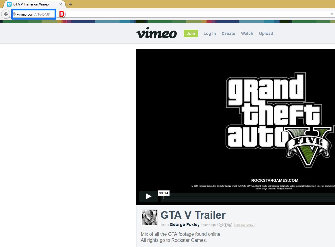 Get Youtube & Vimeo Video URL
