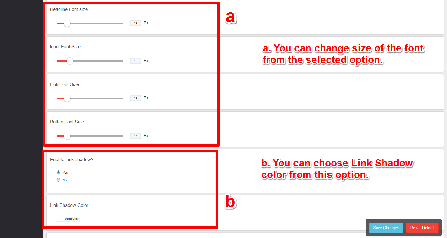 alc-text-and-color-size-setting