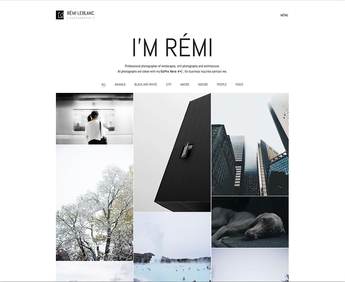 kalium-photography-wordpress-website-template