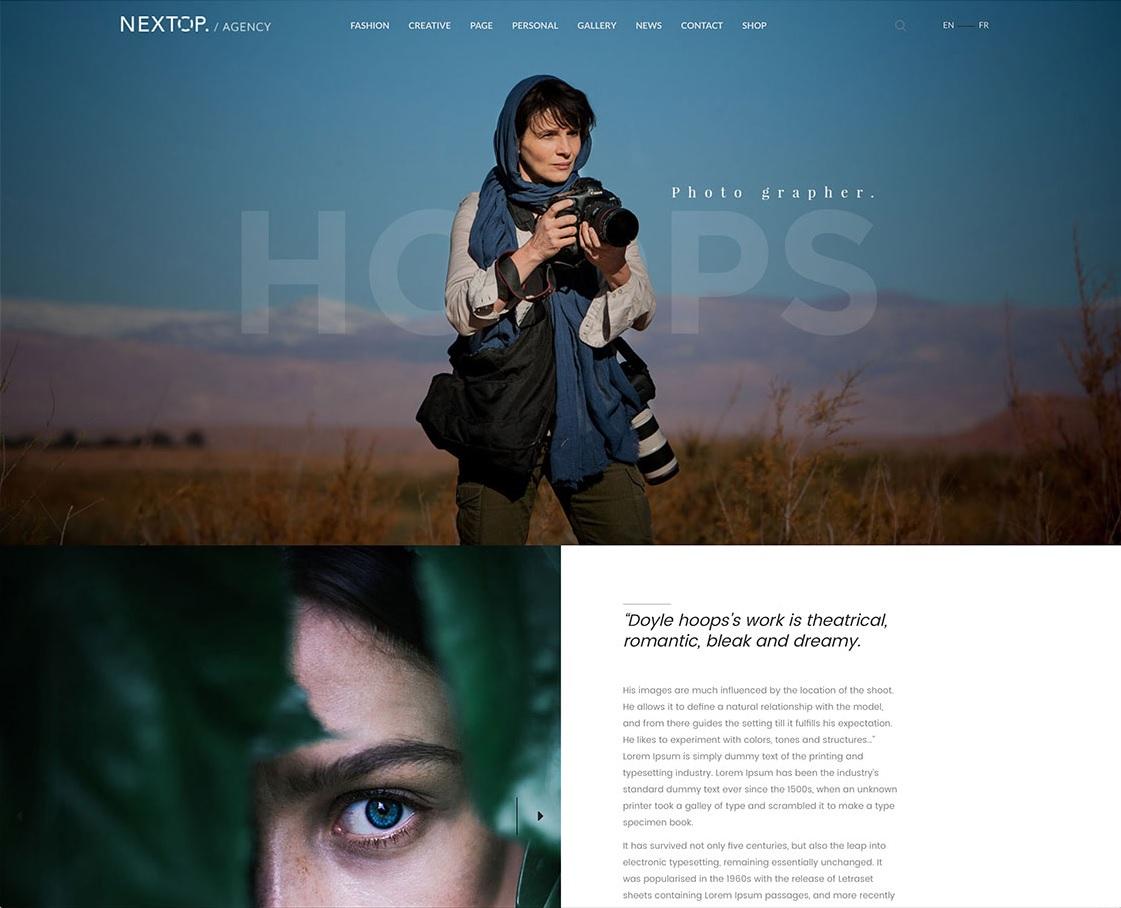 nextop-flexible-photography-wordpress-theme