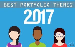 best portfolio themes 2017