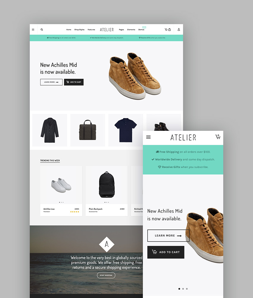 best wordpress themes altelier