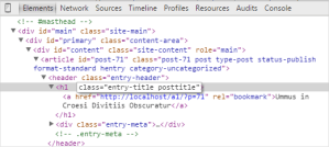 how to customize through inspect element inspect editing html