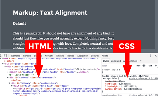 how to customize through inspect element inspect html css panes