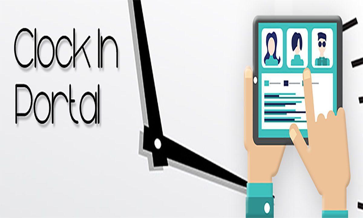 Image of clock in portal wordpress plugin