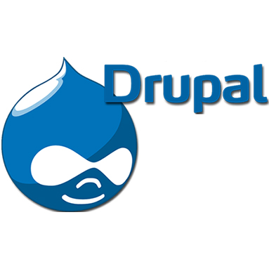 drupal logo top 10 php cms of the year
