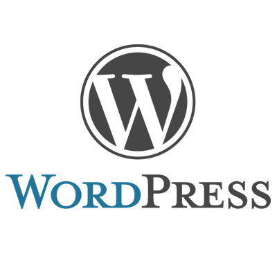 wordpress logo top 10 php cms of the year