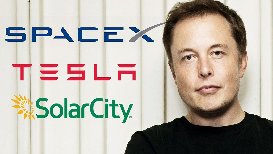 elon musk is the founder and ceo of tesla motors, spacex and solar city