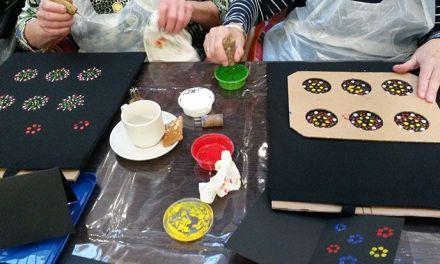 Crea-ochtend Buurtstee: Workshop stipwerk op tas