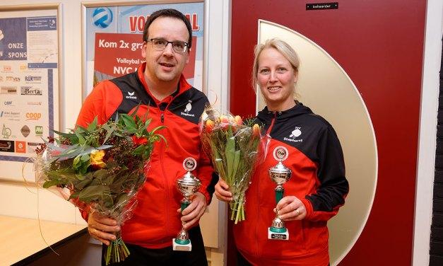 Nico Drost wint 1e prijs op het Deto tafeltennis Nieuwjaarstoernooi