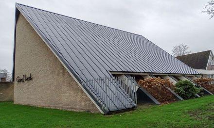 Gereformeerde kerk staat er weer schitterend bij, dakklimmen verleden tijd