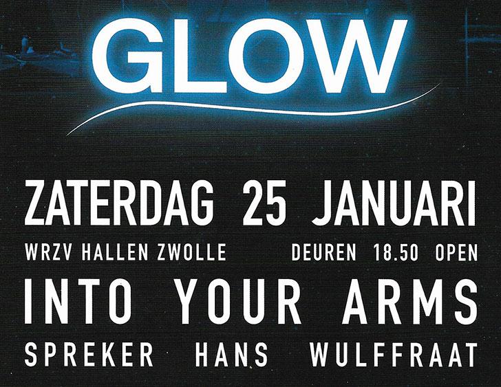 Zaterdagavond 25 januari: Glow, met Hans Wulffraat