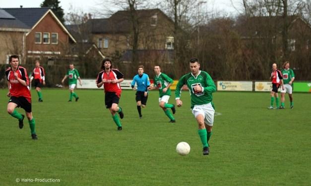 Dorpsderby SC Rouveen eindigt in winst voor SC Rouveen 4