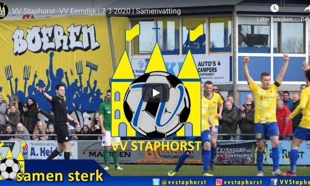 Samenvatting  VV Staphorst – Eemdijk