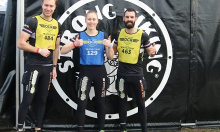 Team family fit start de derde wedstrijd OCR Series