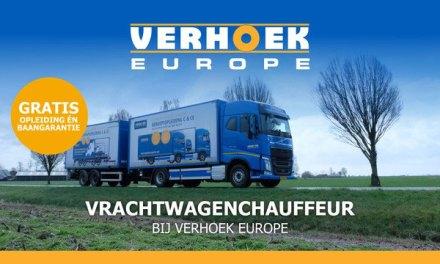 Opleiding tot chauffeur bij Verhoek Europe? 100% baangarantie! Informatieochtend/-middag gaat ivm corona NIET door