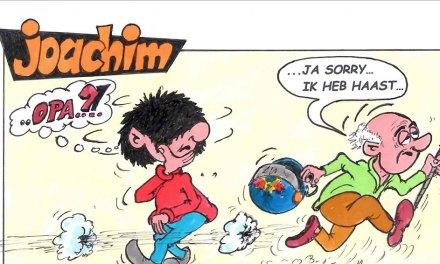 Joachim door Ed Perdok: …na 16 maart is 's nachts nog een optie, want dan kun je de CO2 uitstoot van Opa niet zien…