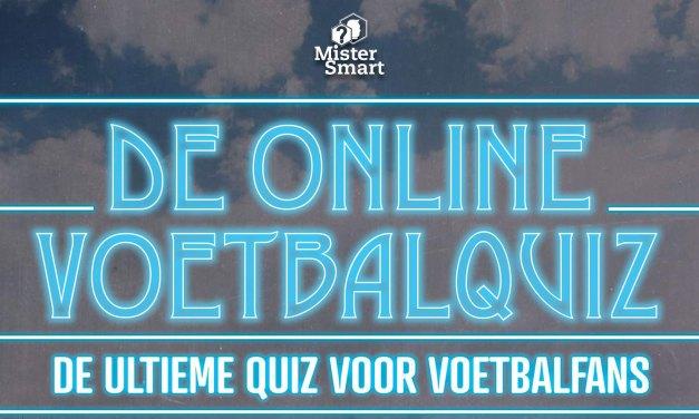 Doe ook mee met de Voetbalquiz, de ultieme quiz voor voetbalfans