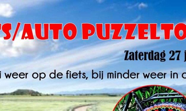FIETS/AUTO PUZZELTOCHT