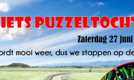 FIETS PUZZELTOCHT!