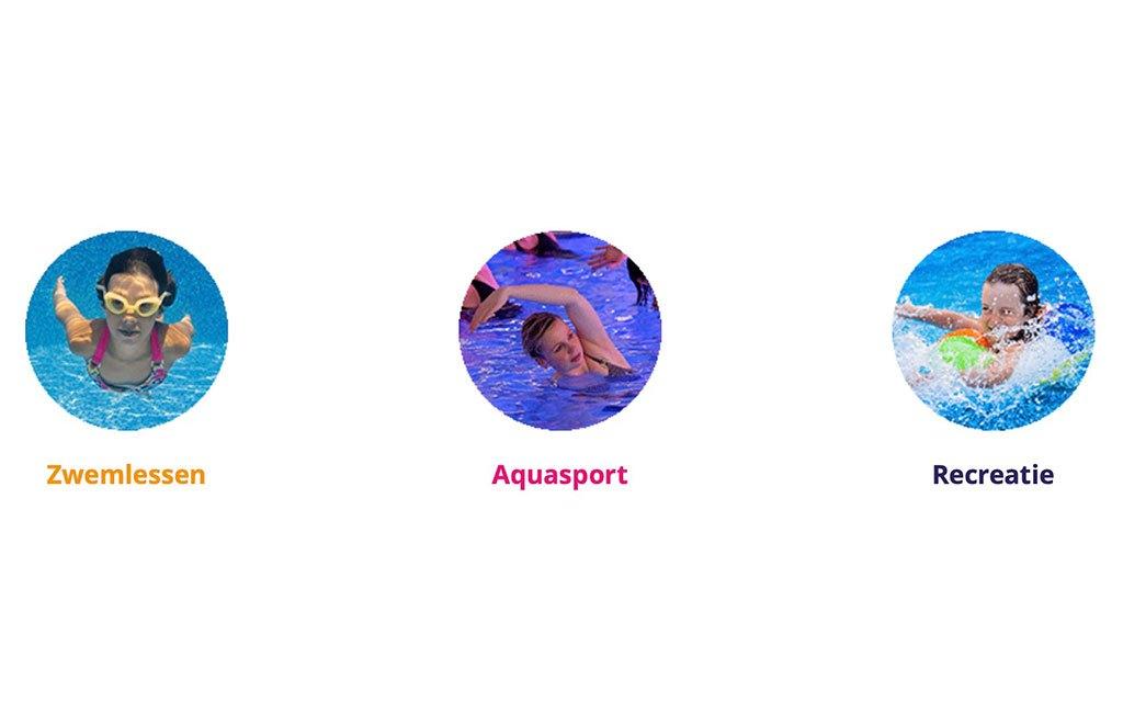 Afzwemmen zonder publiek wel bijzonder