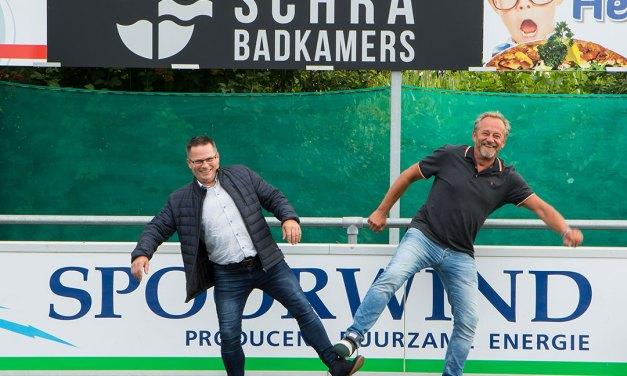 """""""Schra badkamers"""" breidt sponsorpakket SC Rouveen uit"""