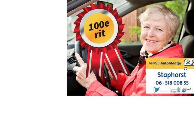 100ste rit ANWB AutoMaatje Staphorst