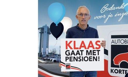 Klaas Buitenhuis met pensioen