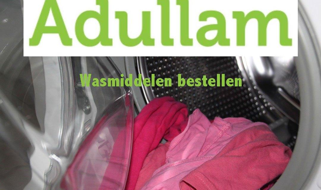 Wasmiddel verkoop voor Adullam weer van start