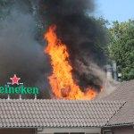 Grote brand bij restaurant De Lichtmis