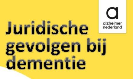 Juridische gevolgen bij dementie: Informatieavond in Museum Staphorst