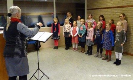 Nieuwe leden welkom bij Chr. Kinderkoor Tehillim
