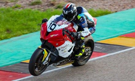 Goede progressie voor Van der Sluis tijdens IDM wedstrijddag op de Sachsenring