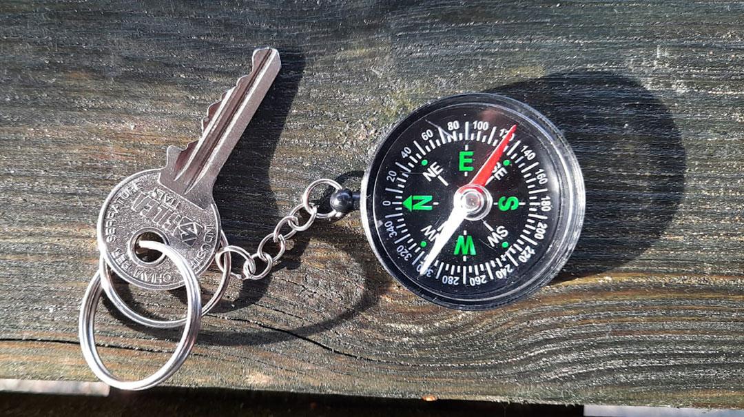 Sleutel met kompashanger gevonden (Update)