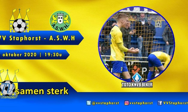 Staphorst nu massaal aan de voetbal