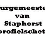 Profielschets nieuwe burgemeester gemeente Staphorst
