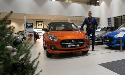 Suzuki-dealer Korterink introduceert de vernieuwde Swift