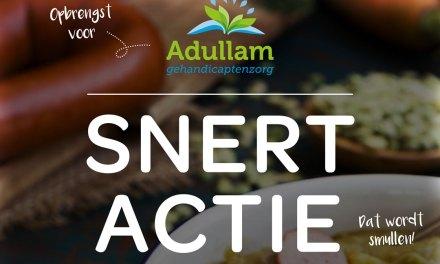 Snertactie van Adullam….dat wordt smullen….