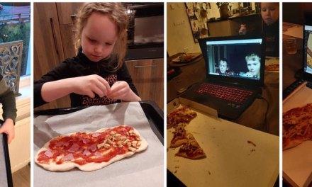 Leerlingen OBS de Berkenhorst sluiten thuisonderwijs af met online La Plaza Pizza maken